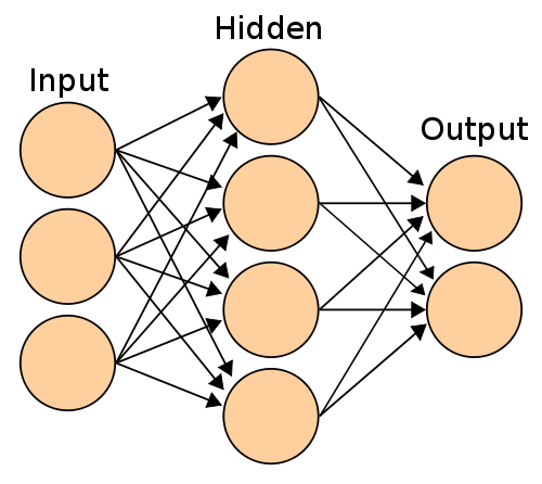 Artificial Neural Network (from wikimedia)